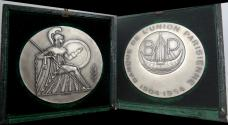 World Coins - silver medal from G Simon art deco 61 mm 97 grs very rare silver medal