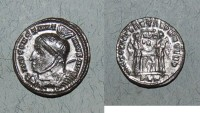 Ancient Coins - AE follis or nummus from constantine I  london mint ric 158