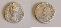 Ancient Coins - Julia Domna - Denarius - Pietas