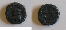 Ancient Coins - Titus - Quadrans - Modius