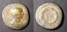 Ancient Coins - Trajan-Semis-Large SC