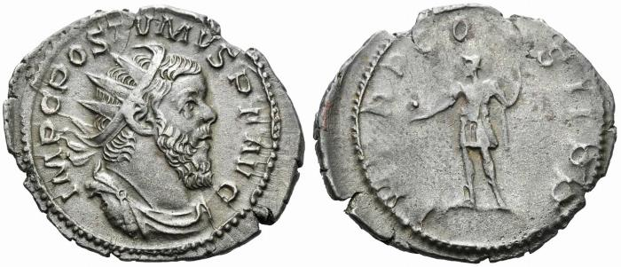 Ancient Coins - Postumus. Romano-Gallic Emperor, AD 260-269. Antoninianus.