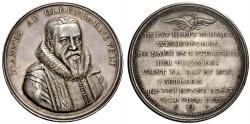 World Coins - Netherlands. Johan van Oldenbarnevelts. 1547-1619. Medal.