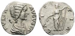 Ancient Coins - Julia Domna. Augusta, AD 193-217. Denarius.