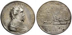 World Coins - Netherlands. Frederick Henry of Orange-Nassau. 1584-1647. Medal.