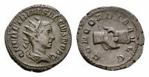 Ancient Coins - Herennius Etruscus AR Antoninianus, clasped hands reverse