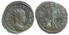 Ancient Coins - Diocletianus Antoninianus, Lugdunum, Jupiter reverse