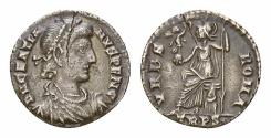 Ancient Coins - Gratianus AR Siliqua, Trier mint