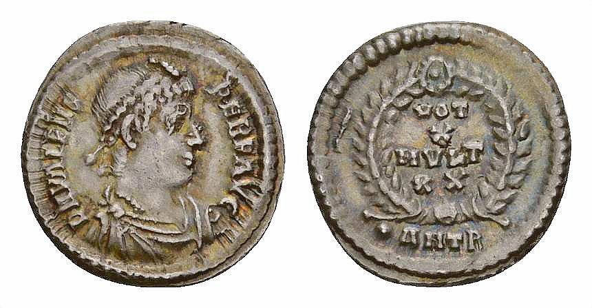 Ancient Coins - Valens AR Siliqua, Antioch mint