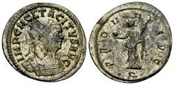Ancient Coins - Tacitus Antoninianus, Providentia reverse