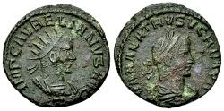 Ancient Coins - Aurelianus and Vabalathus BI Antoninianus, Antioch