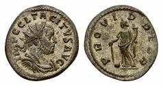 Ancient Coins - Tacitus Antoninianus, Providentia reverse, Lugdunum mint