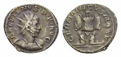 Ancient Coins - Gallienus AR Antoninianus, German victory reverse