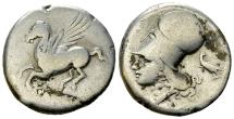 Ancient Coins - Corinth AR Stater, c. 375-300 BC