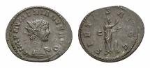 Ancient Coins - Numerianus AE antoninianus, Pietas reverse
