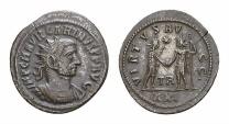 Ancient Coins - Carinus AE antoninianus, Tripolis mint