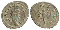 Ancient Coins - Gallienus Antoninianus, Sol reverse, RIC V 249