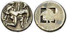 Thasos AR Stater, c. 480-463 BC