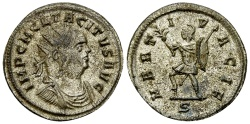 Ancient Coins - Tacitus Antoninianus, Mars reverse