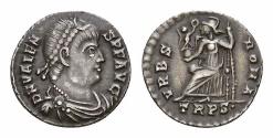 Ancient Coins - Valens AR Siliqua, Trier mint