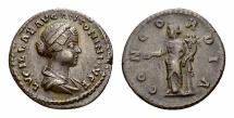 Ancient Coins - Lucilla AR Denarius, Concordia reverse