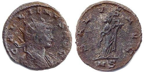 Ancient Coins - Gallienus 253-268 Antoninianus
