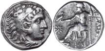 "Ancient Coins - Alexander III, ""the Great"" 336-323 BC, Silver Drachm"