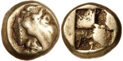 Ancient Coins - Ionia, Phokaia c.478-387 BC Electrum Hekte