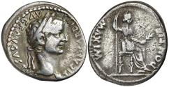 "Ancient Coins - Tiberius 14-37 Silver Denarius ""Tribute Penny"""