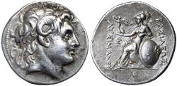 Ancient Coins - Kings of Thrace, Lysimachos 305-281 BC Silver Tetradrachm