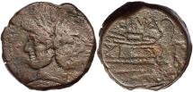 Ancient Coins - L. Cornelius Cinna c.169-158 BC, AE As
