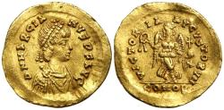 Ancient Coins - Marcian 450-457 Gold Tremissis