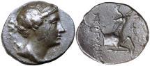 Ancient Coins -  Ionia, Ephesos 281-202 BC, Silver Didrachm