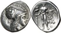 Ancient Coins - Lucania, Herakleia, c.281-278 BC, Silver Nomos