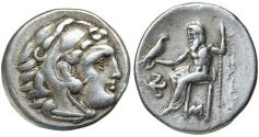 Ancient Coins - Kings of Macedon. Alexander III 'the Great'. 336-323 BC. Silver Drachm
