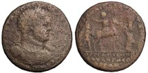Ancient Coins - **RARE CARACALLA AE42 MEDALLION OF PERGAMON. CLEAR DEVICES. SCARCER VARIANT..