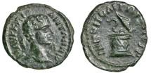 Ancient Coins - Caracalla AE18, Nikopolis, Moesia Inferior - Cista Mystica