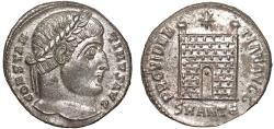 Ancient Coins - Constantine I AE3 – Campgate – EF