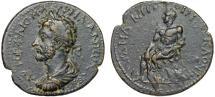 Ancient Coins - Marcus Aurelius AE26  Laranda; Lycaonia – Herakles