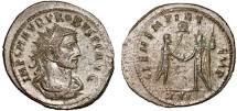 Ancient Coins - Probus AR antoninianus – Emperor and Jupiter – Tripoli