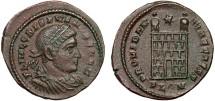 Ancient Coins - Crispus Caesar AE3 – Campgate –  London