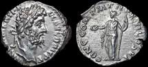 Ancient Coins - Commodus AR denarius – Concordia – Good example of this scarce type