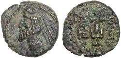 Ancient Coins - Parthian Kingdom: Phraates IV AE chalkon – Anchor