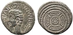 Ancient Coins - Augustus AE As – Celt-Iberian shield
