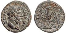 Ancient Coins - Phrygia. Apameia AE15 – pseudo-autonomous issue – Zeus Kelaineos/Eagle