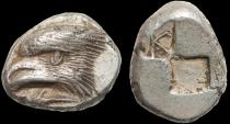 Ancient Coins - Paphlagonia. Sinope AR drachm – Eagle/incuse squares