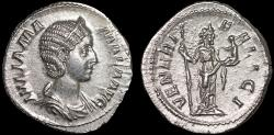 Ancient Coins - Julia Mamaea AR denarius – Venus – EF