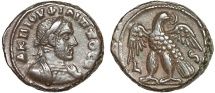 Ancient Coins - Philip I billon tetradrachm; Alexandria Egypt – Eagle