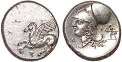 Ancient Coins - Corinthia. Corinth: AR stater – Pegasos/Athena – gEF; excellent metal; lustrous