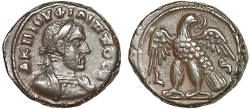 Ancient Coins - Philip I billon tetradrachm; Alexandria Egypt – Eagle